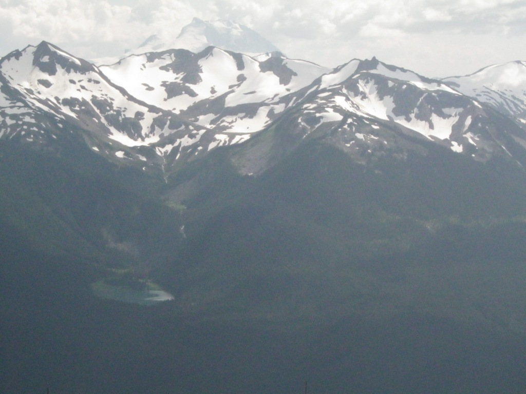 Mountain Tarn From Whistler