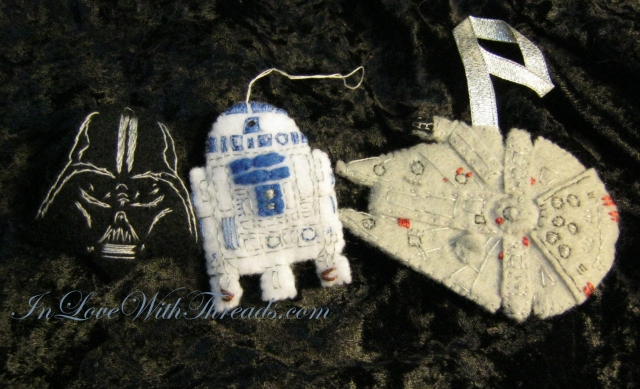 Star Wars Ornaments WM